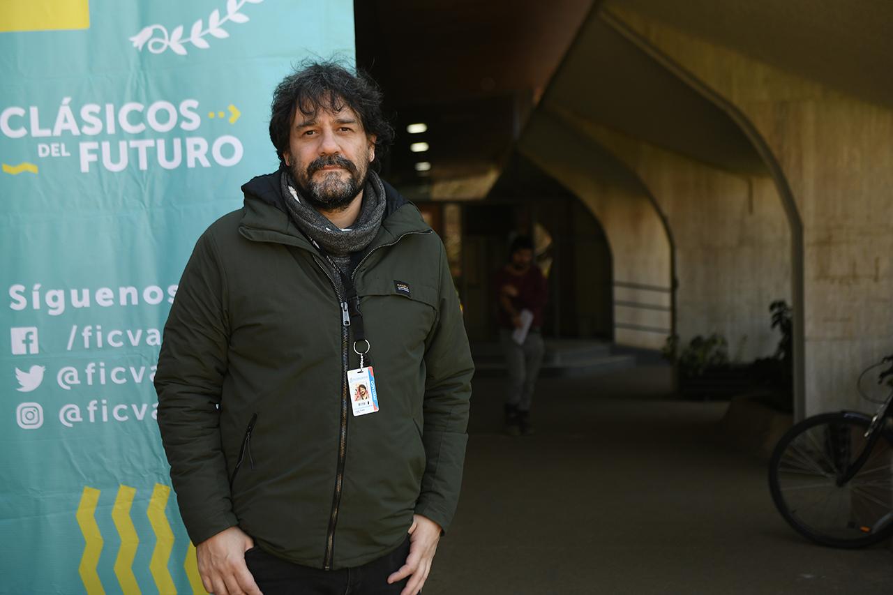 Ángel Rueda, director de (S8), Mostra Internacional de Cinema Periférico de A Coruña